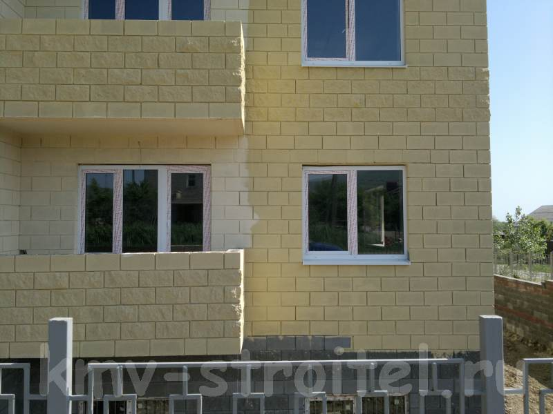Soočanje s hišo blokov opeke