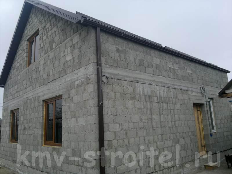 Строительство домов из шлакоблоков своими руками