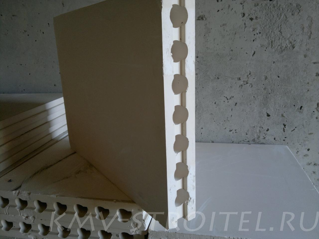 Пазогребневые плиты (ПГП) 26