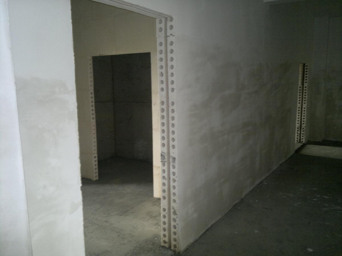 Interroom predelne stene v monolitni hiši