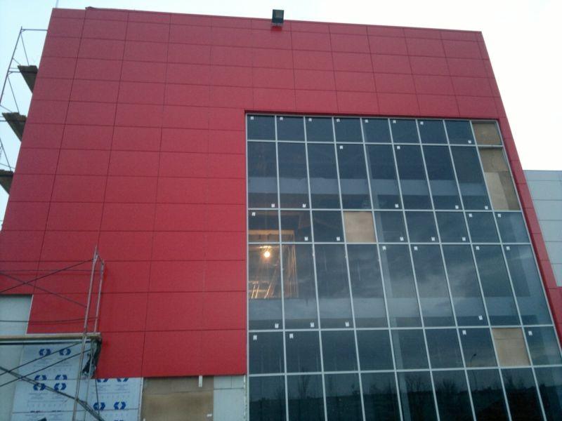 Выполненных нами фасадных работ