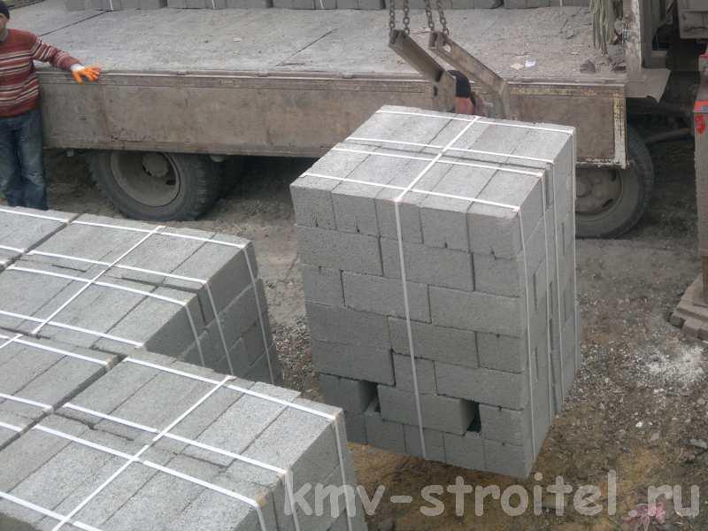 Как построить дом из шлакоблоки своими руками