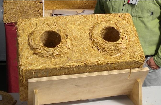 Изготовление блоков из соломы своими руками